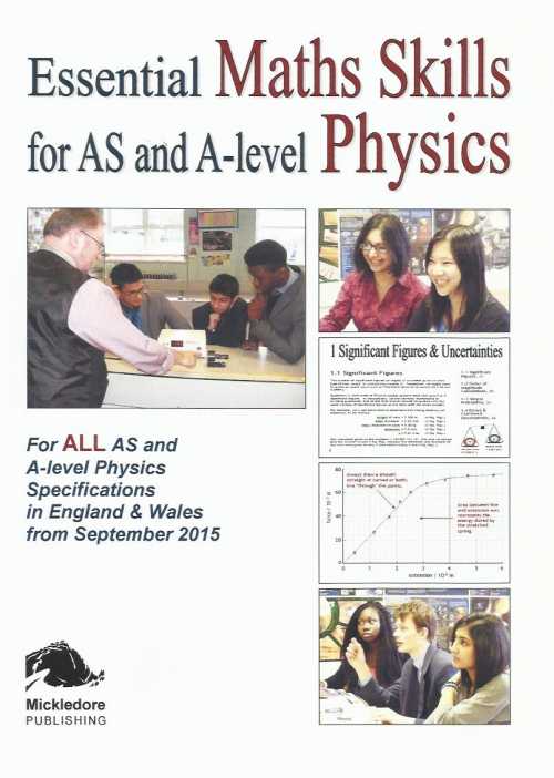 Essential Maths Skills for AS and A-level Physics 9780956470065
