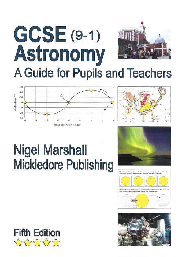 GCSE (9-1) Astronomy - A Guide for Pupils and Teachers (5th edition)