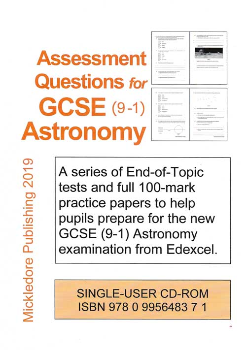 Assessment Questions for GCSE (9-1) Astronomy